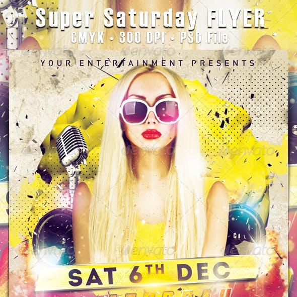 Super Saturday Flyer