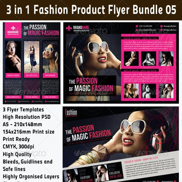 3 in 1 Fashion Product Flyer Bundle 05