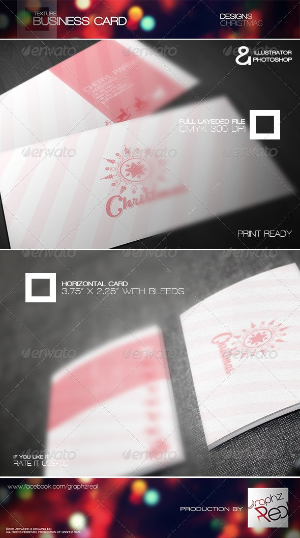 Business Card 007 - Business Cards Print Templates
