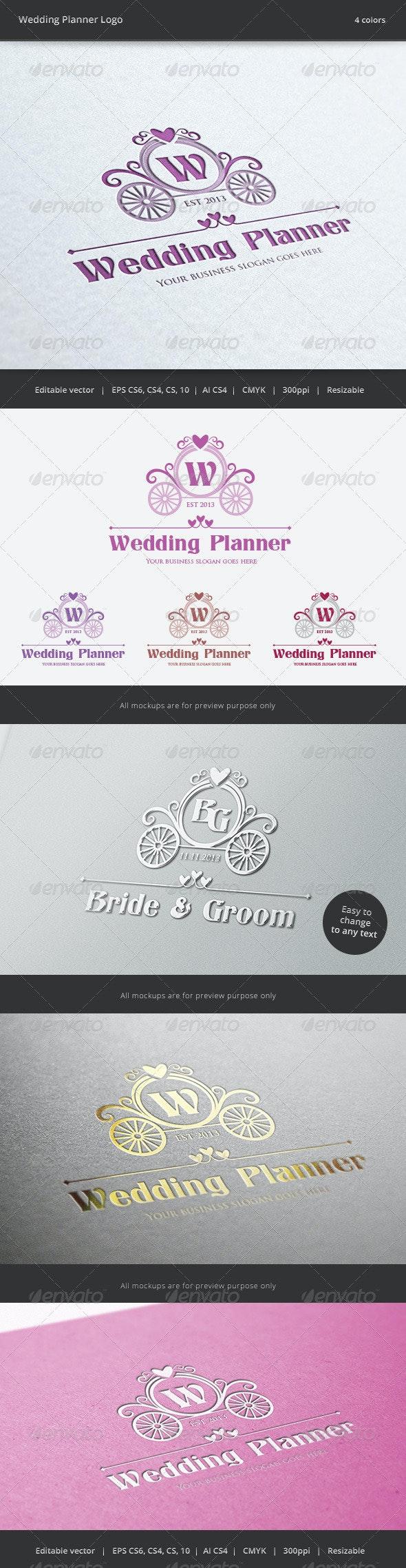 Wedding Planner Letter Crest Logo - Crests Logo Templates