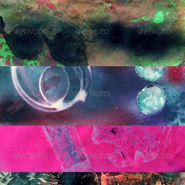 Colorful Spray Textures