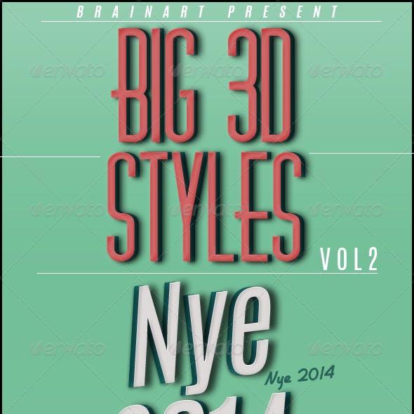 Big 3D Styles Vol .2