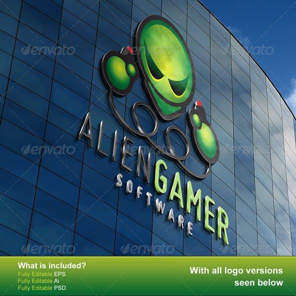 Alien Gamer Logo