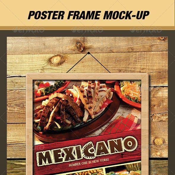 Poster / Picture Frame Mock-Up