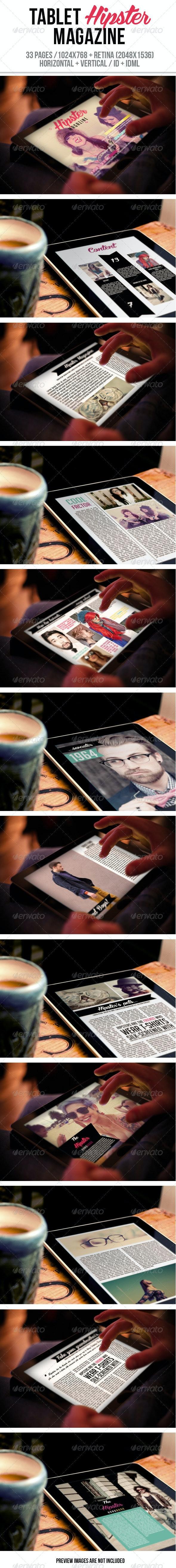 iPad & Tablet Hipster Magazine