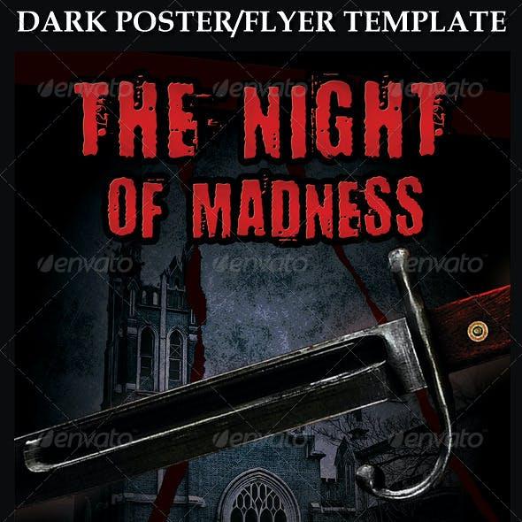 Dark Poster Flyer Template