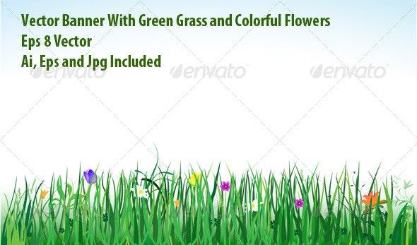 Spring Banner - Seasons Nature