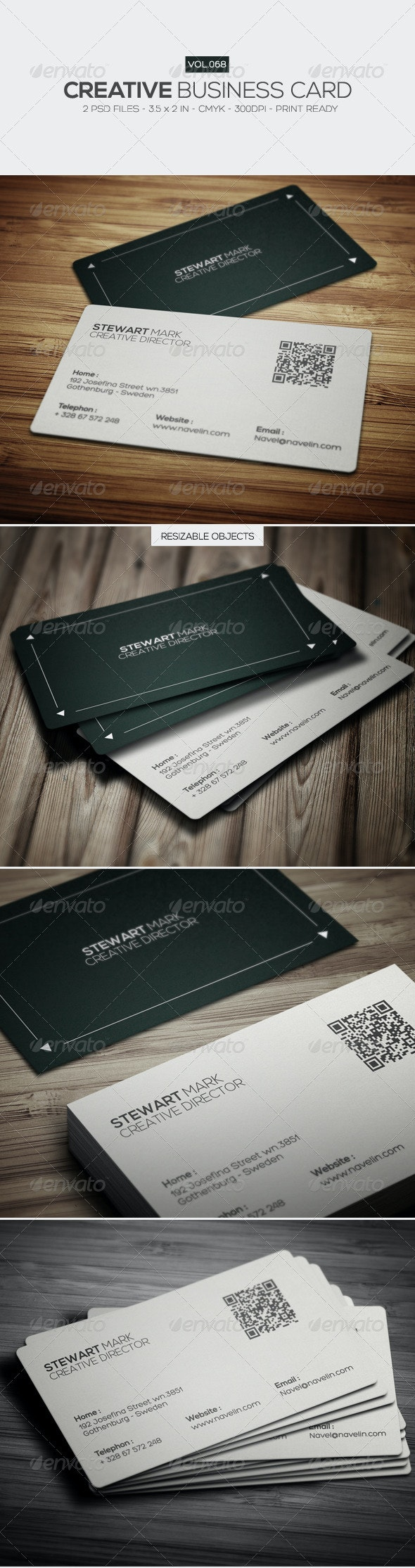 Creative Business Card 068 - Creative Business Cards
