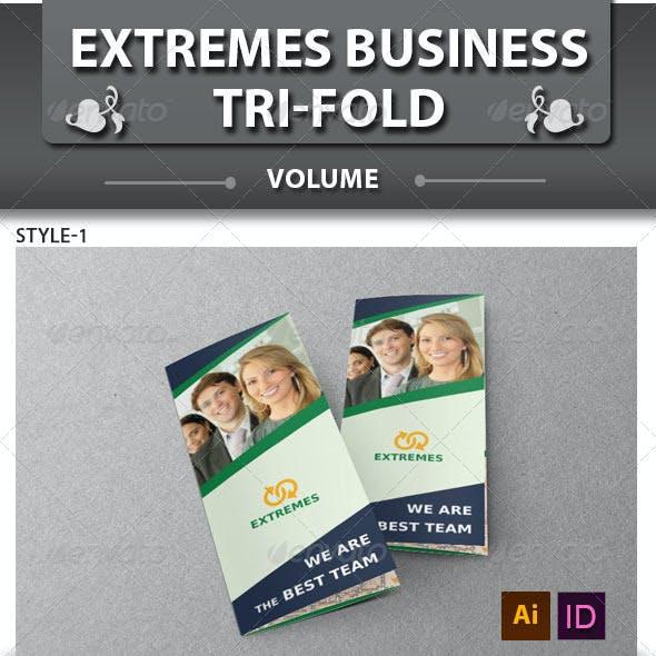 Corporate Business Tri-fold Brochure | Volume 3