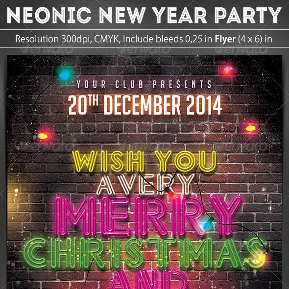 Neonic New Year Party
