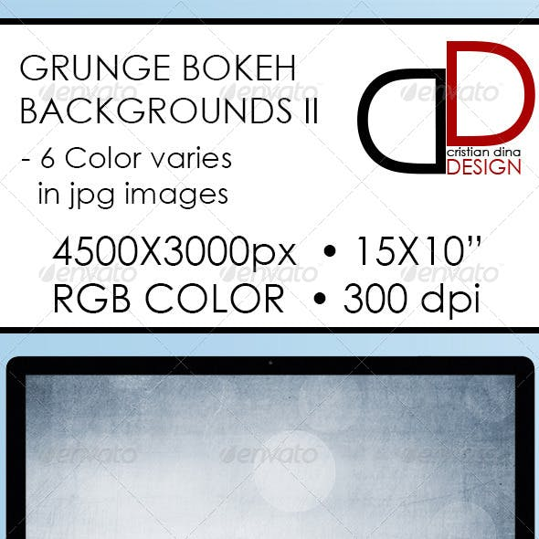 Abstract Grunge Bokeh Backgrounds II