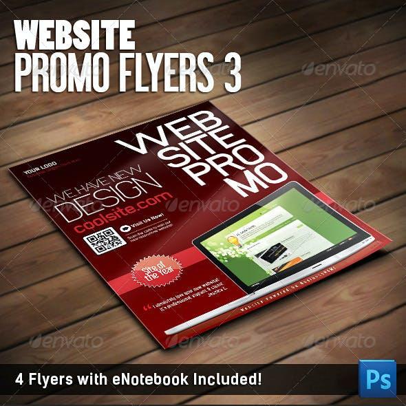 Website Promo Flyers v.3