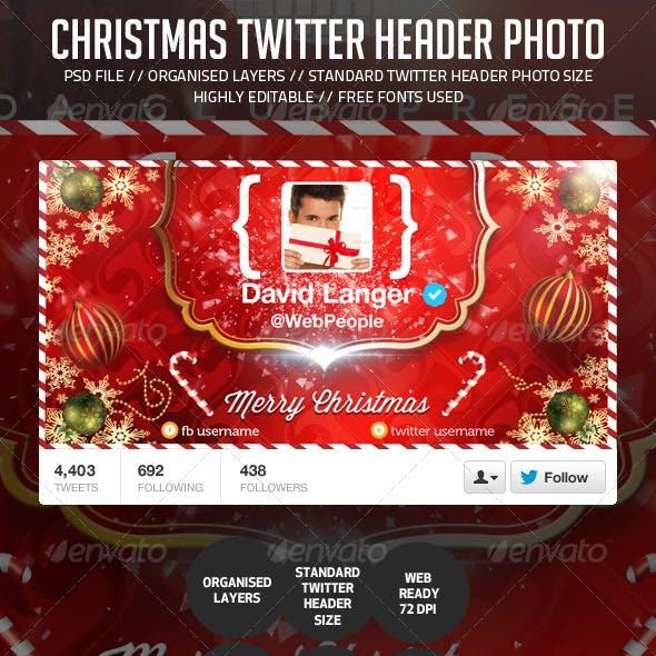 Chirstmas/Holidays Twitter Header Photo