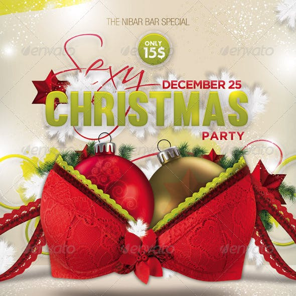 Sexy Christmas Party Flyer