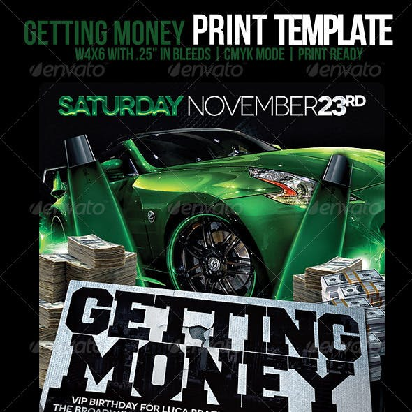 Getting Money Flyer