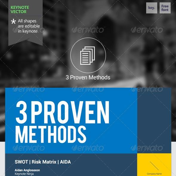 3 Proven Methods - Keynote Template