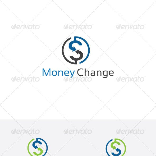 Money Exchange Dollar Logo