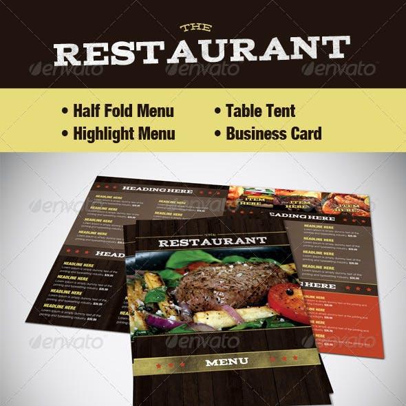 Restaurant Menu (Food and Drink)