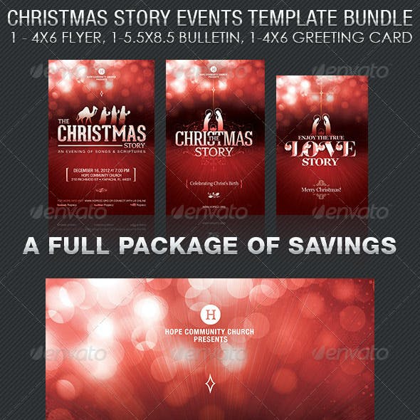 Christmas Story Event Template Bundle