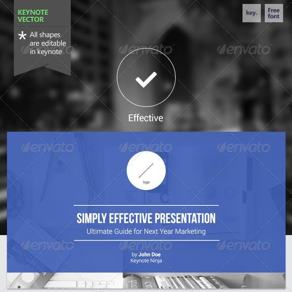 Effective - Keynote Template