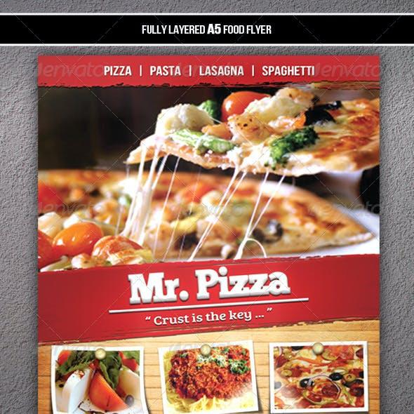 Food Flyer (A5)