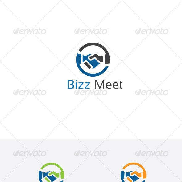 Business Hands Logo Template