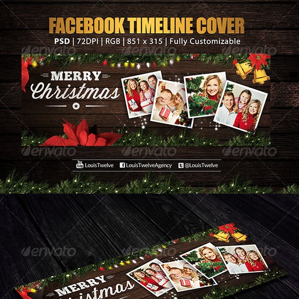Family Christmas | Facebook Cover
