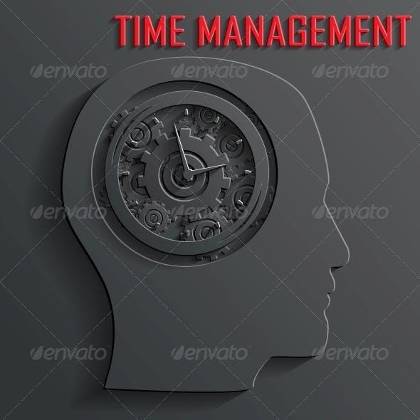 Clock Mechanism in Head Vector