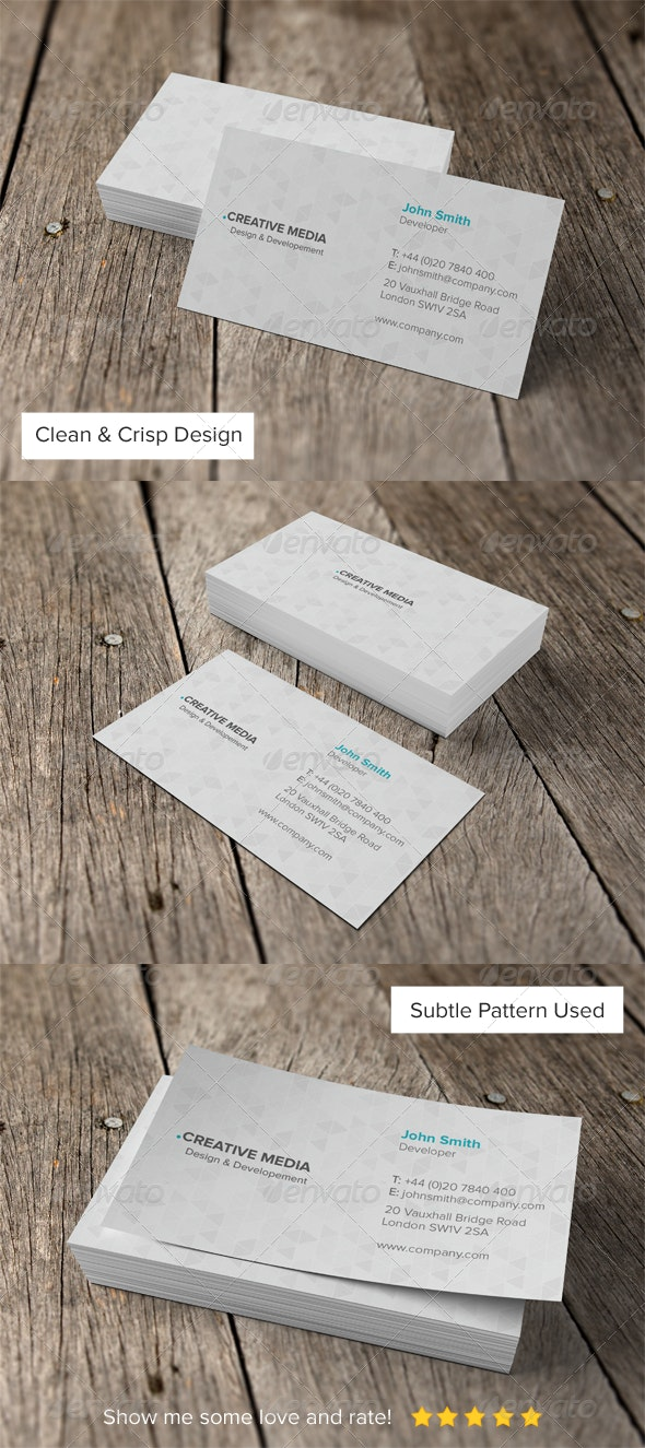 Business Card 03 - Business Cards Print Templates