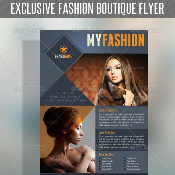 Fashion Product Flyer 19
