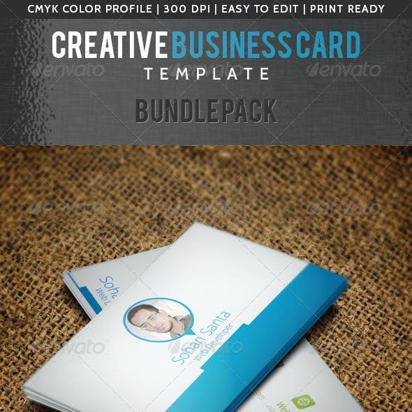 Creative Business Card Bundle Pack