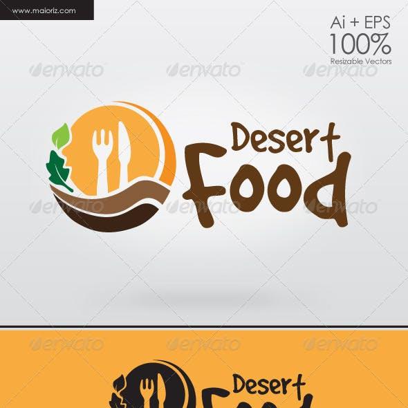 Desert Food Logo