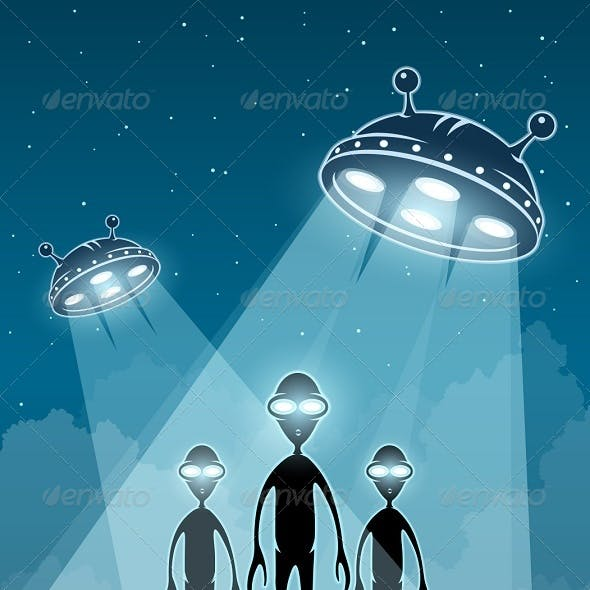 UFO Alien Newcomers and Flying Saucers