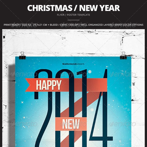Christmas / New Year Flyer / Poster