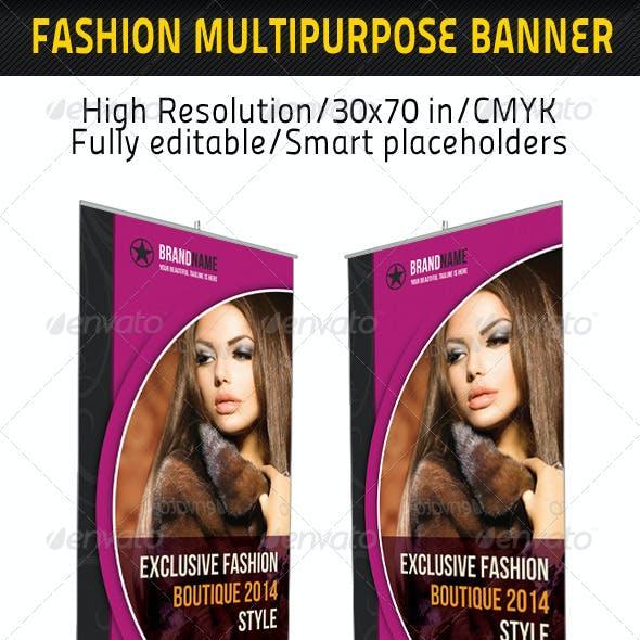 Fashion Multipurpose Banner Template 19