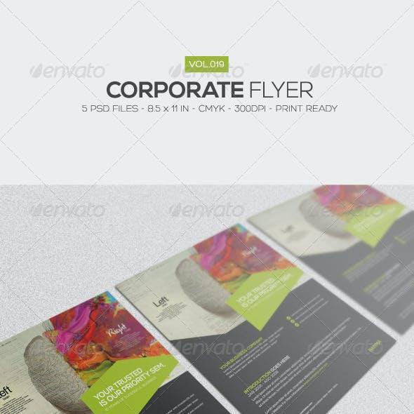 Corporate Flyer Vol.19