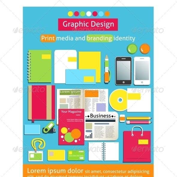 Graphic Design Print Media and Branding Identity