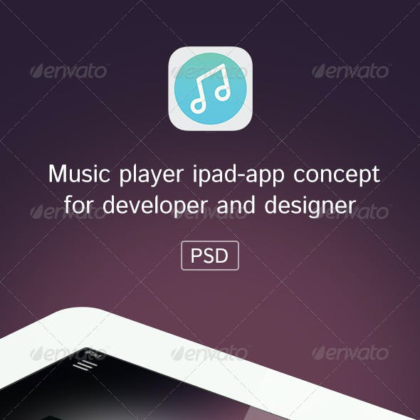 Music Player Ipad App