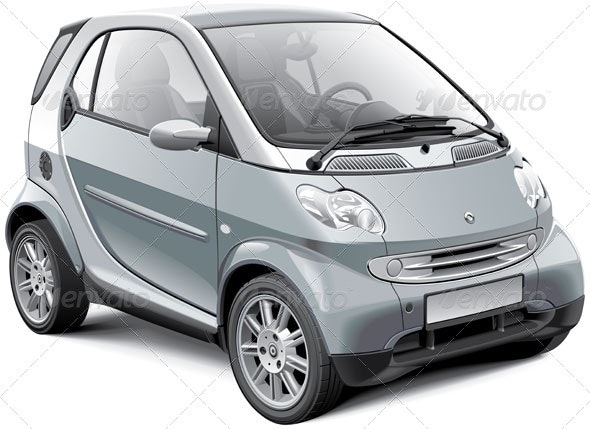 European Microcar - Vectors
