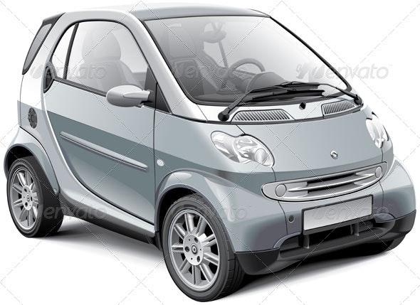 European Microcar - Vectors