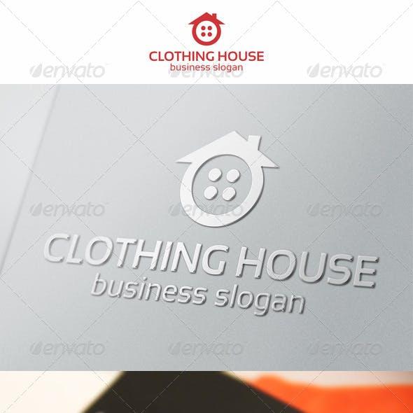 Clothing House Home Logo