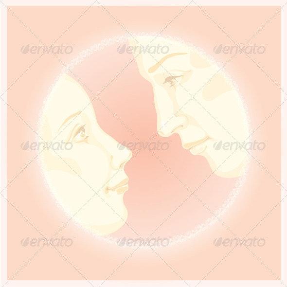 Valentine Greeting Card Design - Valentines Seasons/Holidays