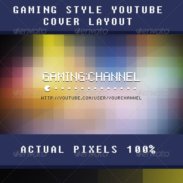 YouTube 2013 'One' Channel Art - Gaming Theme