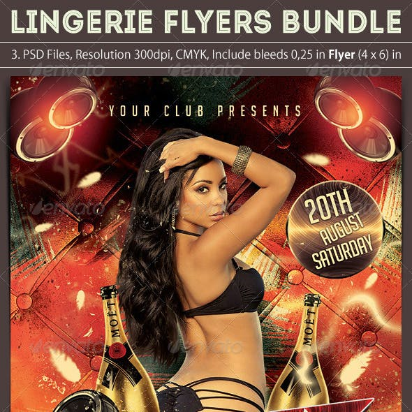 Lingerie Flyers Bundle