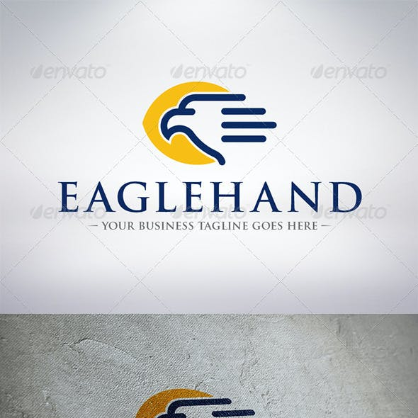 Eagle Hand Logo Template