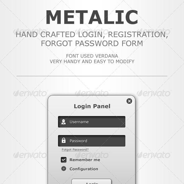 Metalic Web Forms