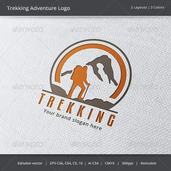 Trekking Adventure Logo