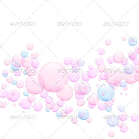 Soap Bubbles - Abstract Backgrounds