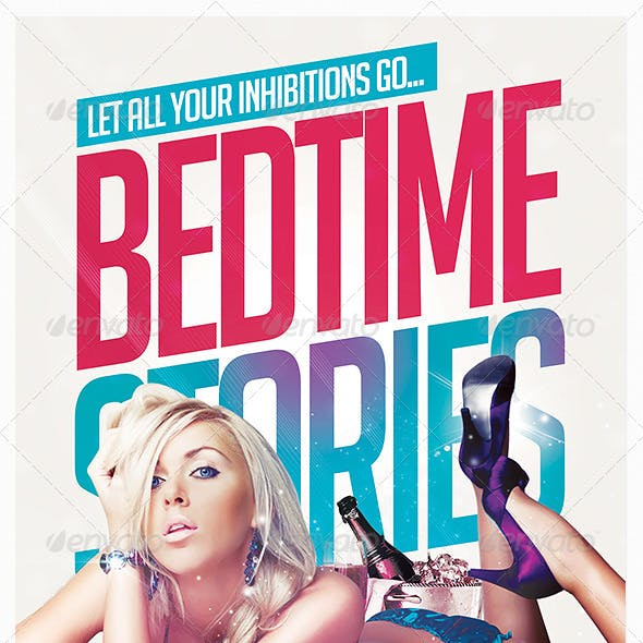 Bedtime Stories Flyer Template
