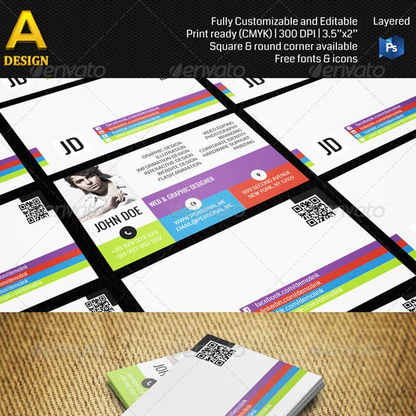 Personal Business Card AN0090